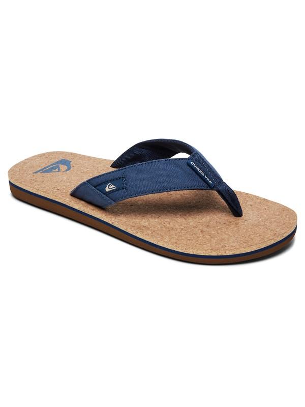 0 Molokai Abyss Cork - Sandals for Men Blue AQYL100761 Quiksilver