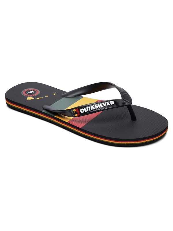 0 Molokai Highline Hawaii Flip-Flops Black AQYL100765 Quiksilver