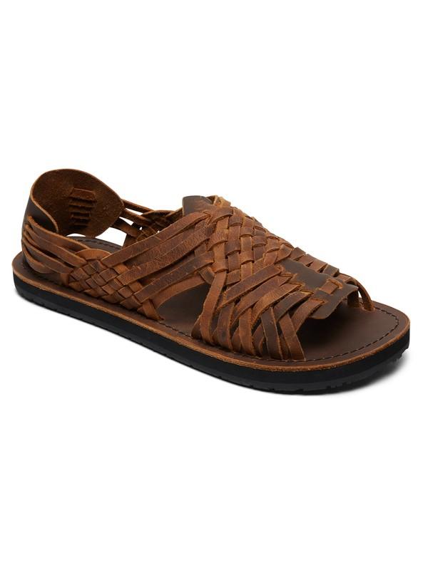 0 Hurache - Leather Sandals for Men  AQYL100781 Quiksilver