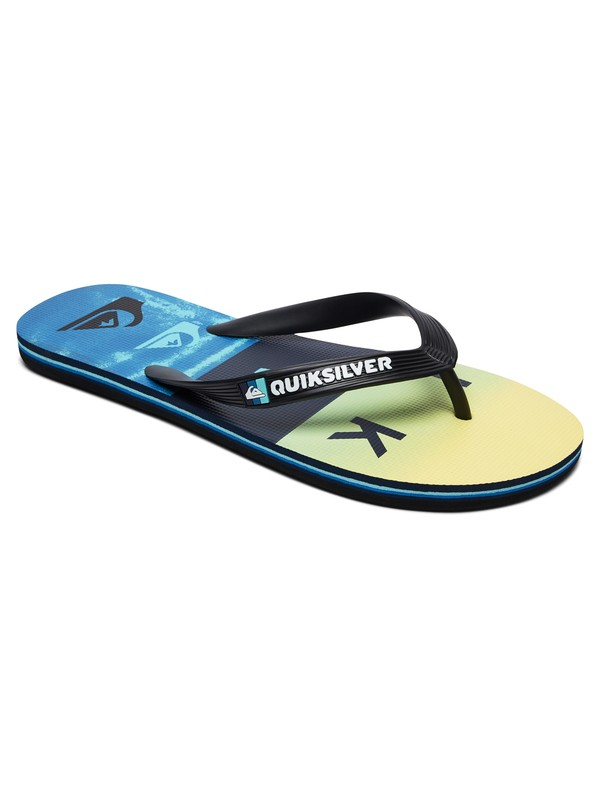 0 Molokai Wordblock - Flip-Flops for Men Black AQYL100788 Quiksilver