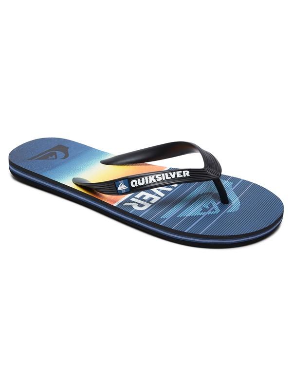 0 Molokai Highline Slab - Flip-Flops for Men Black AQYL100792 Quiksilver
