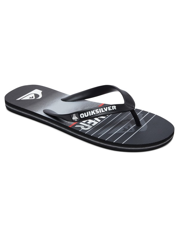0 Molokai Highline Slab - Flip-Flops for Men Black AQYL100792 Quiksilver