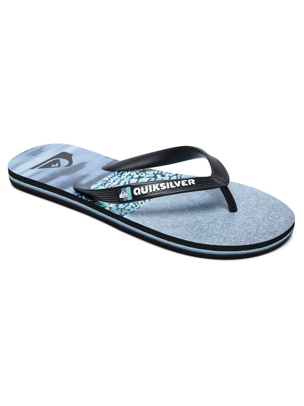 0 Molokai Acid Sun - Flip-Flops for Men Blue AQYL100794 Quiksilver