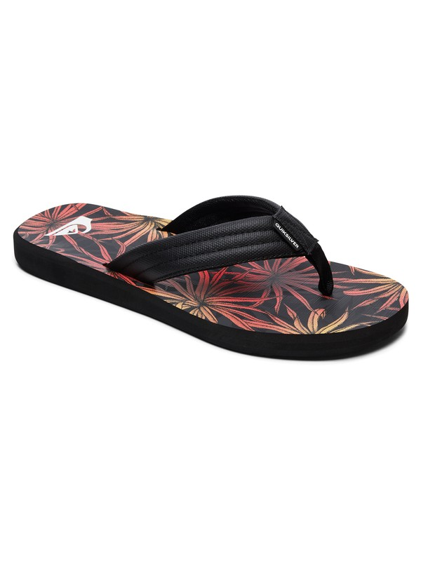 0 Carver - Sandals for Men Black AQYL100809 Quiksilver