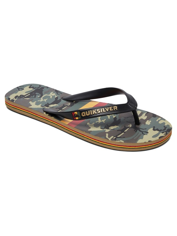 0 Molokai Highline Hawaii Flip-Flops Multicolor AQYL100835 Quiksilver