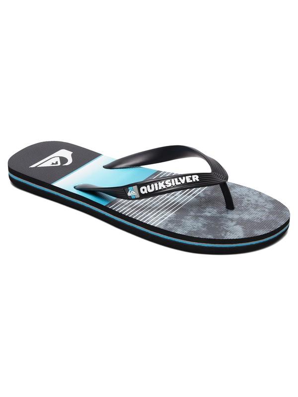 0 Molokai Slab Flip Flops Black AQYL100860 Quiksilver