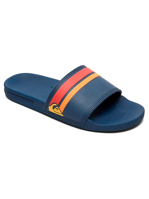 0 Rivi Slide Slider Sandals Blue AQYL100867 Quiksilver
