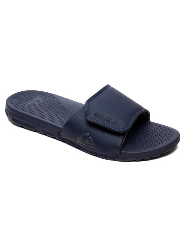0 Shoreline Adjust - Slider Sandals Blue AQYL100884 Quiksilver