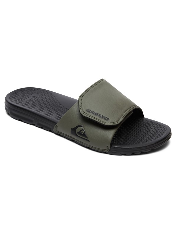 0 Shoreline Adjust - Slider Sandals Black AQYL100884 Quiksilver