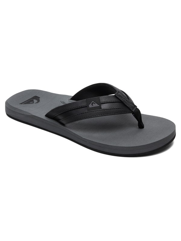 0 Carver Squish Sandals Black AQYL100886 Quiksilver