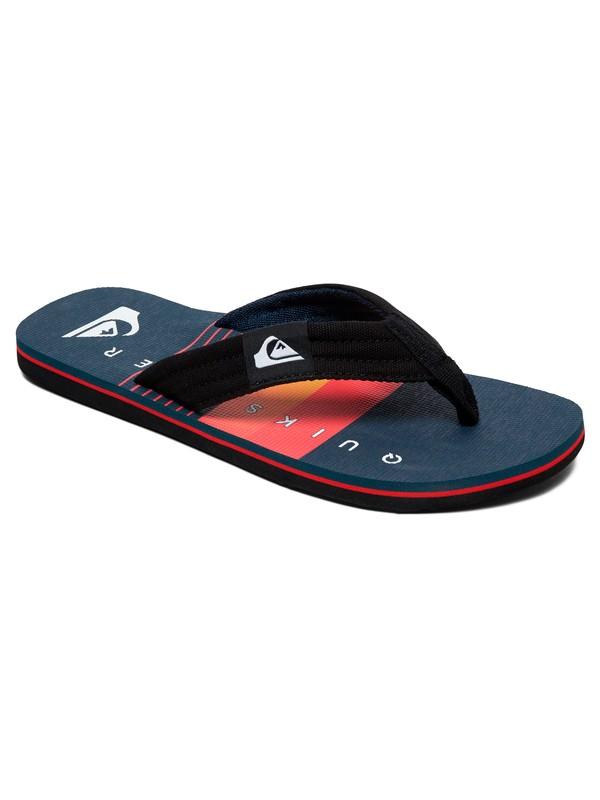 0 Molokai Layback Flip Flops Black AQYL100899 Quiksilver