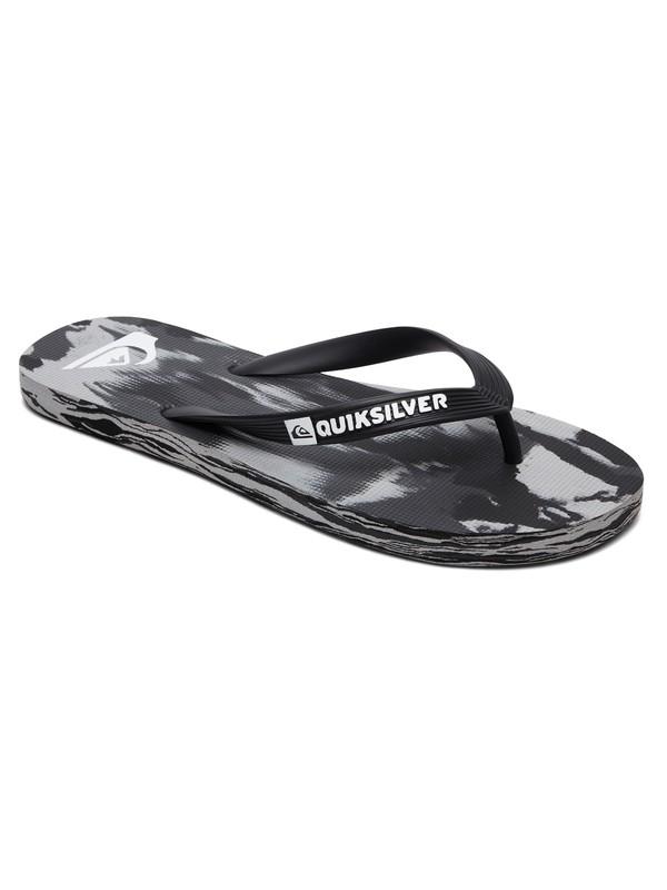 0 Molokai Marled Flip Flops Black AQYL100958 Quiksilver