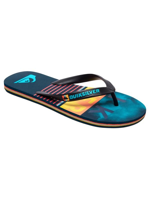 0 Molokai Swell Vision Flip-Flops Black AQYL100970 Quiksilver