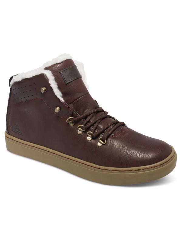 0 Jax - Zapatillas De Media Bota para Hombre Marron AQYS100014 Quiksilver