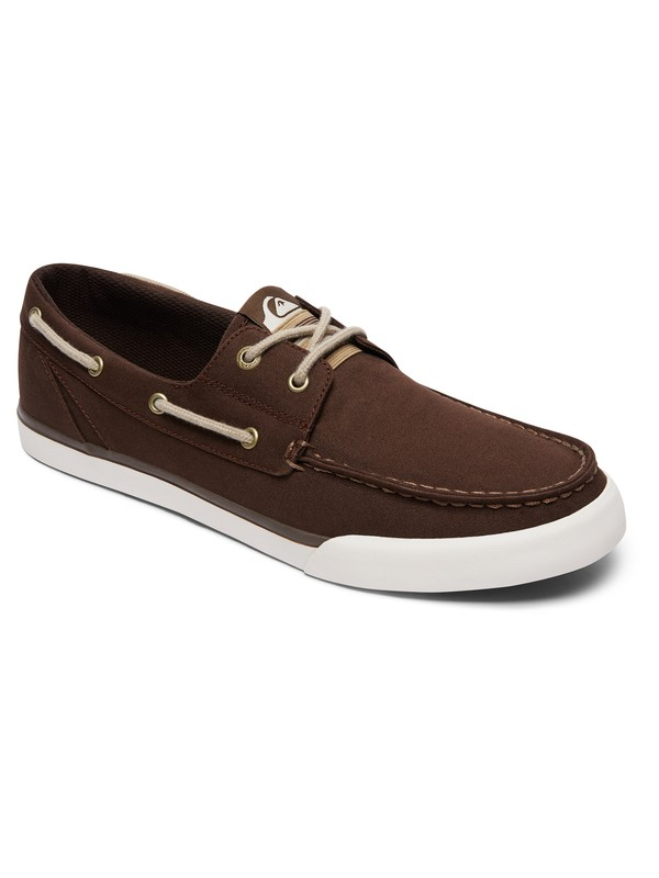 0 Spar - Deck Shoes for Men Brown AQYS300052 Quiksilver