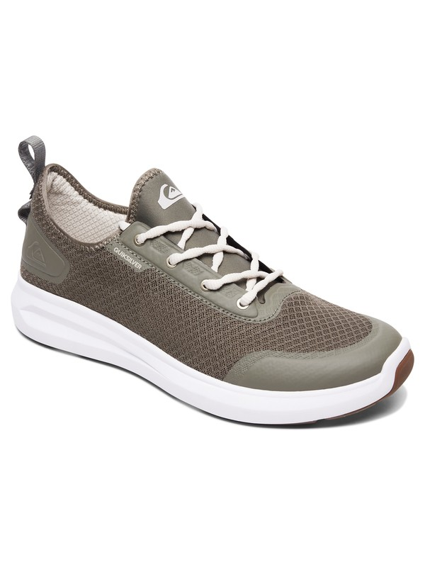 0 Zapatos - Layover Travel Verde AQYS700043 Quiksilver