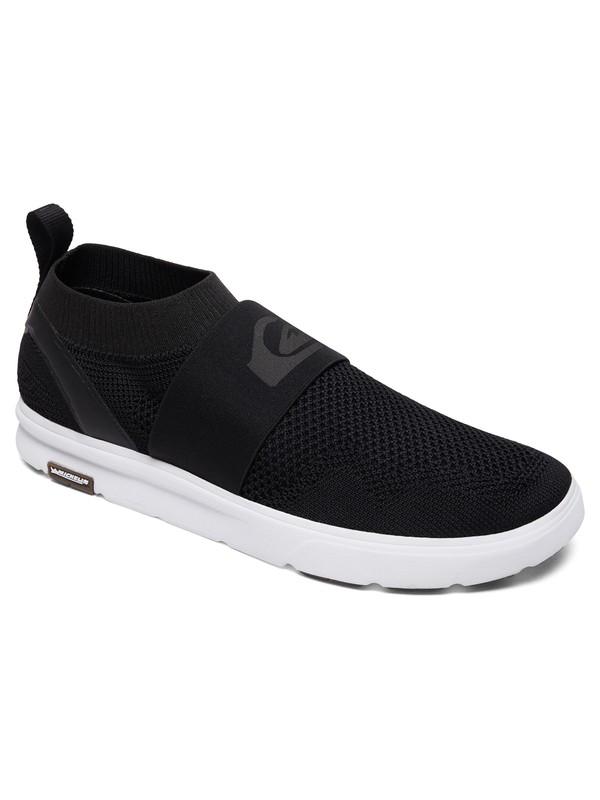 0 Amphibian Plus Slip-On - Amphibian Slip-On Shoes Grey AQYS700047 Quiksilver