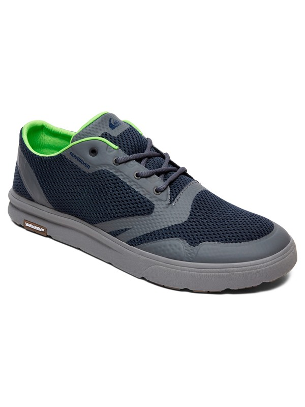 0 Amphibian Plus Amphibian Shoes Blue AQYS700049 Quiksilver