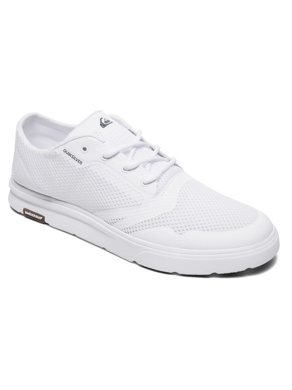 0 Amphibian Plus Amphibian Shoes White AQYS700049 Quiksilver