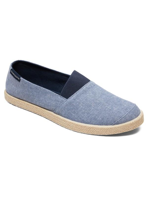 0 Espadrilled - Zapatillas sin Cordones para Hombre Azul AQYS700053 Quiksilver