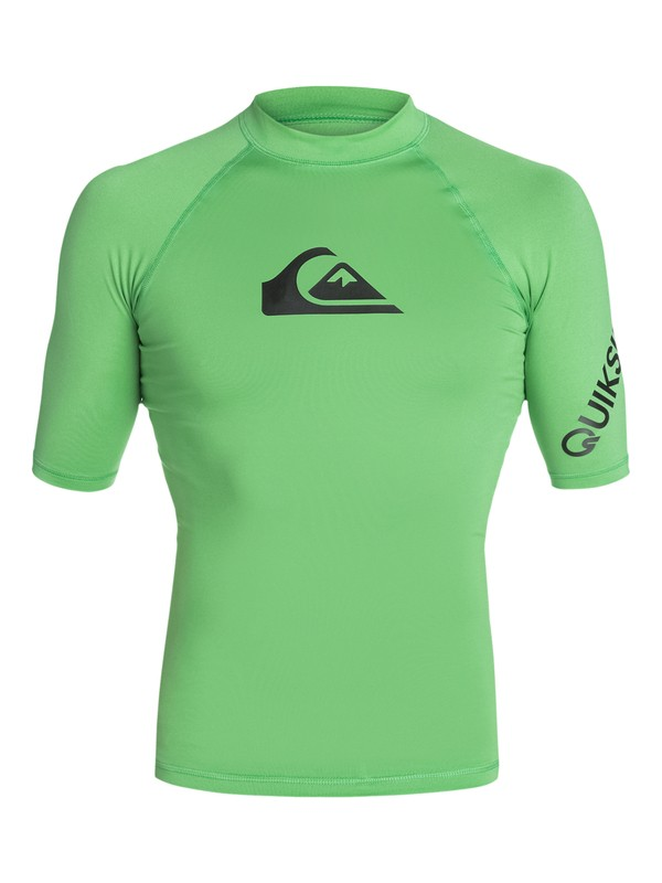0 All Time Short Sleeve Rash Vest  AQYWR03000 Quiksilver