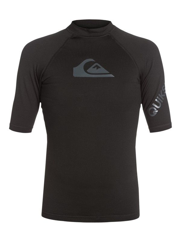 0 Heater Short Sleeve Rashguard  AQYWR03018 Quiksilver