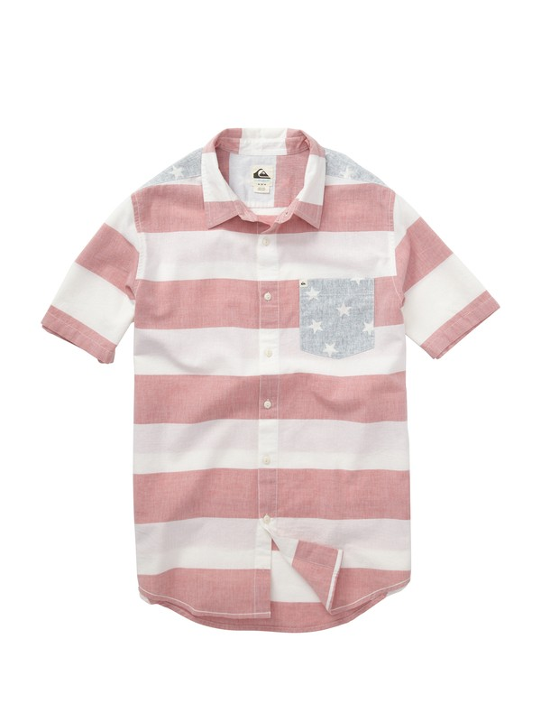 0 Rights and Left Short Sleeve Shirt  AQYWT00138 Quiksilver