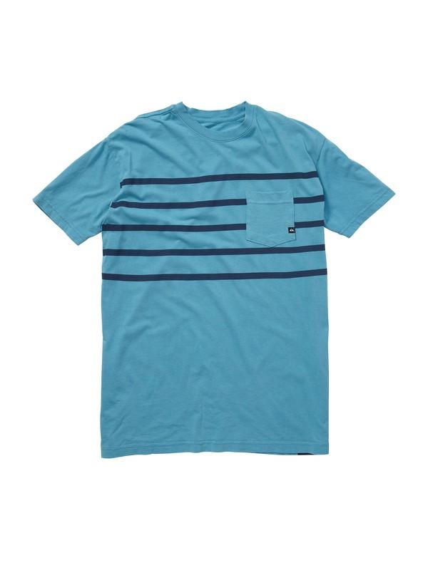 0 Trapped Slim Fit Pocket T-Shirt  AQYZT00826 Quiksilver