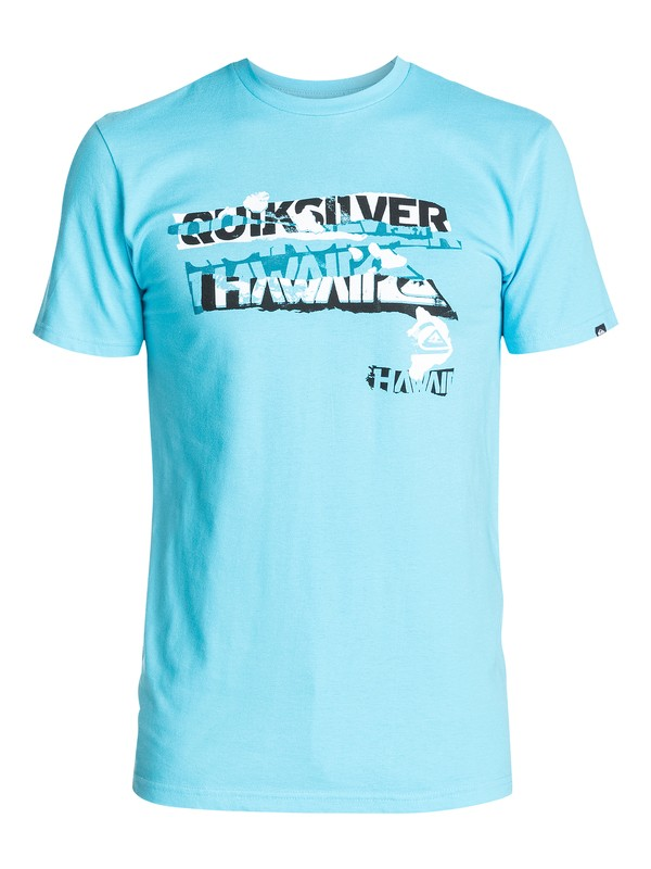 0 Ripped Hawaii T-Shirt  AQYZT03379 Quiksilver
