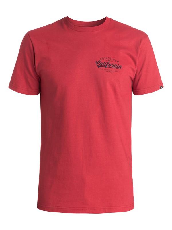 0 Camiseta California Original  AQYZT03487 Quiksilver
