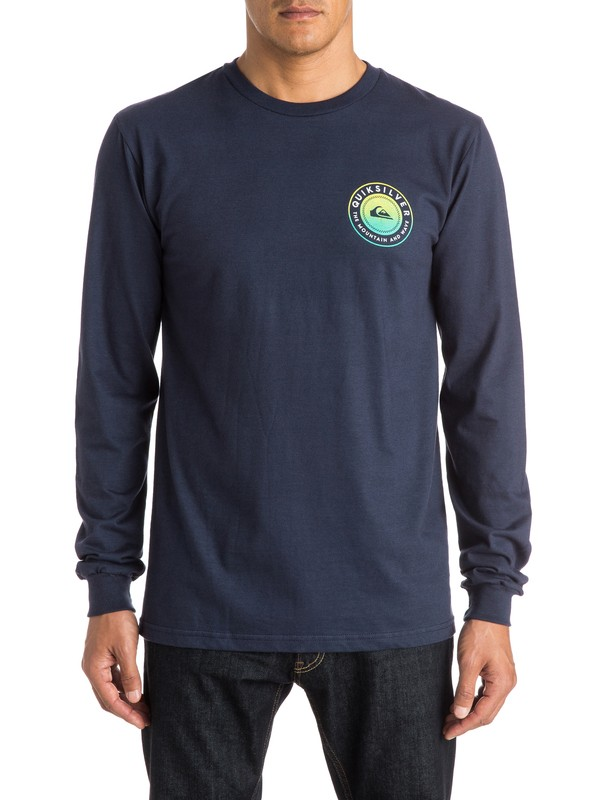 0 Check Me Out - Long Sleeve T-Shirt  AQYZT03833 Quiksilver