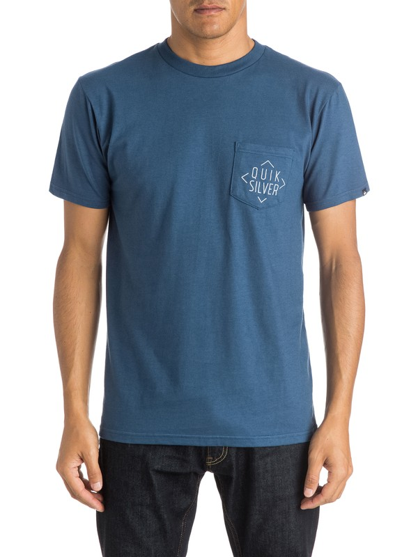 0 Simple - Pocket T-Shirt  AQYZT03987 Quiksilver