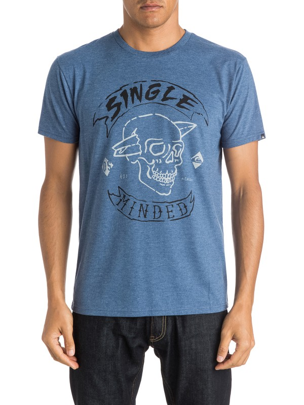 0 Single Minded - T-Shirt  AQYZT03997 Quiksilver