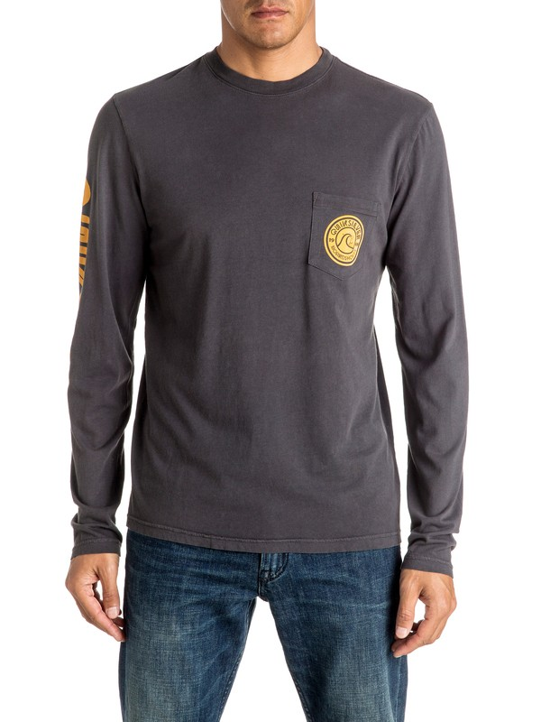 0 Bubble Logo - Long Sleeve T-shirt  AQYZT04451 Quiksilver