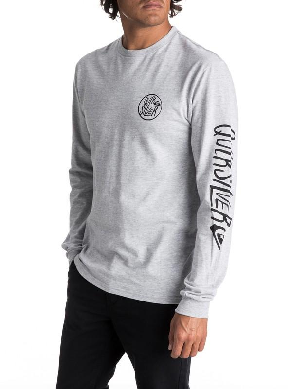 0 Hombres Camiseta de Manga Larga  Kool Shapes  AQYZT05021 Quiksilver