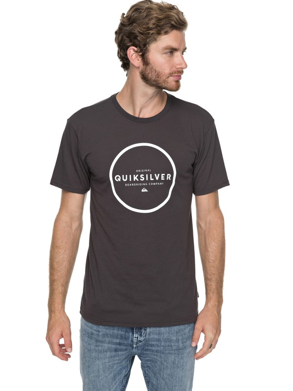 0 Hunter Down Tee Black AQYZT05194 Quiksilver