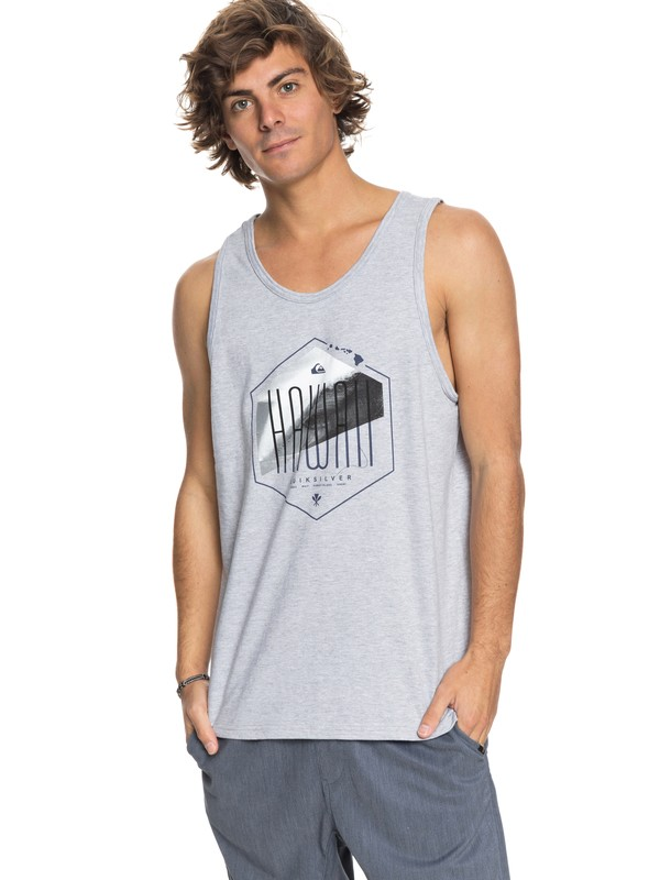 0 Hawaii Losange Vest Grey AQYZT05450 Quiksilver
