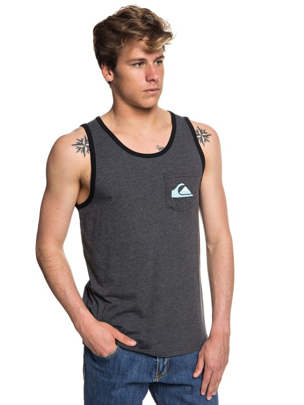 0 Vice Versa Vest Black AQYZT05572 Quiksilver