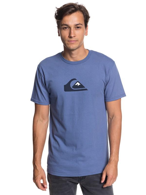 0 Comp Logo Tee  AQYZT05756 Quiksilver