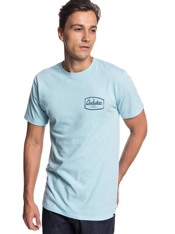 0 Edgy Vibes Tee Blue AQYZT05759 Quiksilver