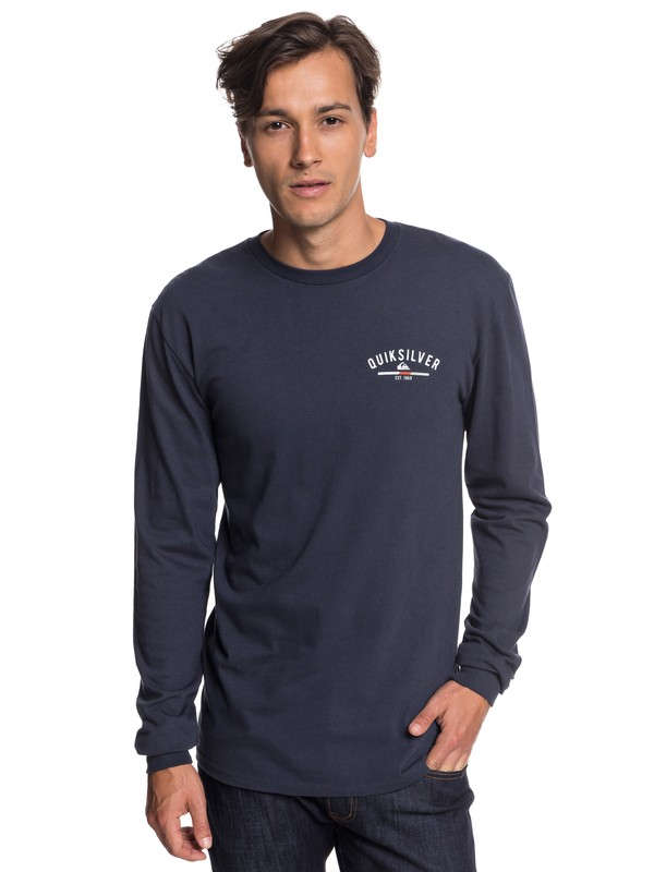 0 Simple Color Long Sleeve Tee  AQYZT05784 Quiksilver