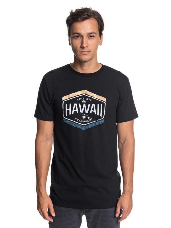 0 Hawaii Money Tee Black AQYZT05799 Quiksilver