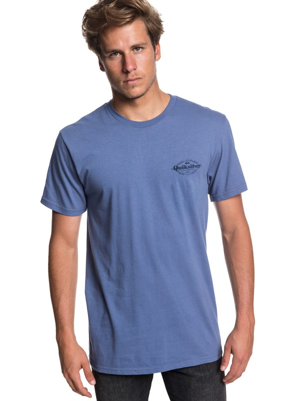 0 Kyoto Halls Tee Blue AQYZT05831 Quiksilver