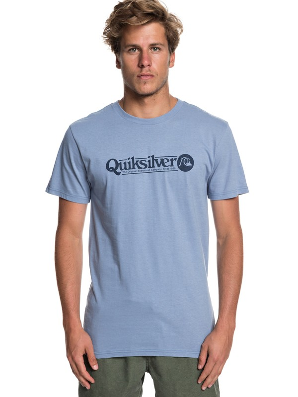 0 Art Tickle Tee Blue AQYZT05911 Quiksilver