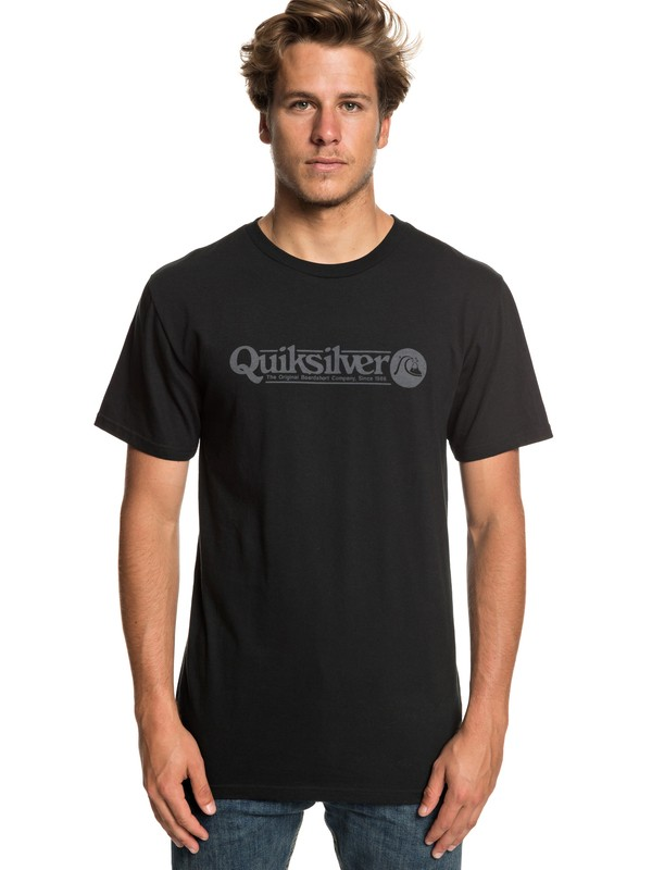 0 Art Tickle Tee Black AQYZT05911 Quiksilver