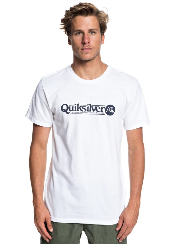 0 Camiseta Art Tickle Blanco AQYZT05911 Quiksilver