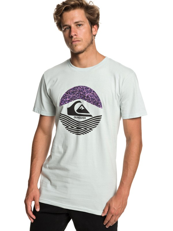 0 Stomped On Tee Blue AQYZT05916 Quiksilver
