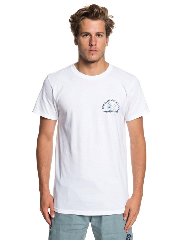 0 Kid Atypical Tee White AQYZT05919 Quiksilver