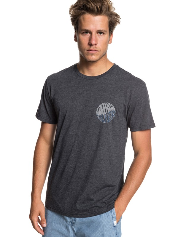 0 Knock Out Tee Black AQYZT05933 Quiksilver