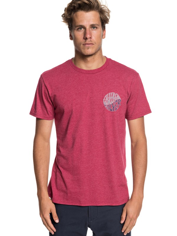 0 Knock Out Tee Red AQYZT05933 Quiksilver